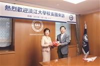 張校長率團參訪韓4姊妹校