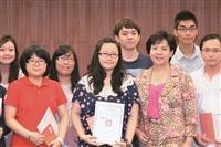 表揚優良TA 學長姊傳授教學經驗