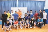 數學系於17日舉辦系友大會暨系友盃聯誼球賽。(圖片/數學系提供)