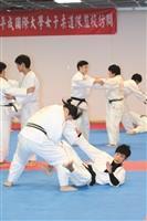 日姊妹校平成國際大學 女子柔道隊來武術交流