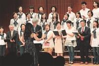 淡江花月夜 女聯會合唱團校內公演秀歌藝