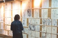 海博館展114幅師生素描