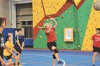 蘭陽師生盃開打 排球賽戰況激烈