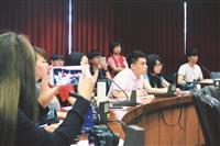 105學年度入學新生 學雜費調整案 公開說明會 學生提問