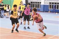校慶盃3對3籃球賽開打