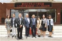 日本私立大學協會事務局長於9日來校