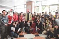 外語學院聖誕餐會六系各顯身手