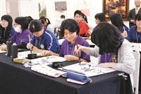 沖繩17所高校生來訪 讚e筆實用