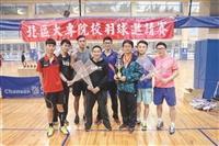 羽球男女校隊雙奪冠