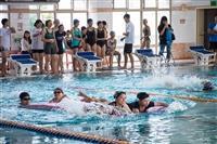 本校游泳館恢復水域相關課程使用