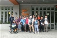 啟明社與視障資源中心15位師生到「臺北身心障礙社企大樓」參訪