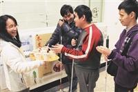 視障資源中心不定期舉辦活動邀請師生團聚。(圖/本報資料照)