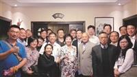 張校長赴上海促學術合作