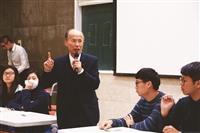 學藝月外交老將呂慶龍談外交技巧