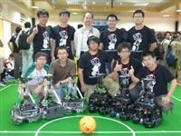 世界機器人足球賽 本校獲3金2銀3銅