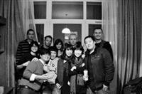 在華沙大學留學的各國學生,常一起開伙、聚餐,感情融洽。