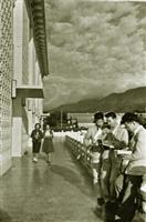 於民國51年落成的學生活動中心,是當時同學們經常留連的去處。