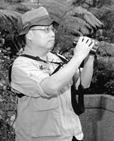 台灣駐邦交國聖路西亞大使廖世卿,是鳥類研究的專家,憑其專業進行軟性外交,增進台灣在國際間的能見度。(攝影�曾煥元)