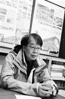 建築系副教授黃瑞茂以其專業觀點,為淡水的再造,投注心力。(圖�洪翎凱)