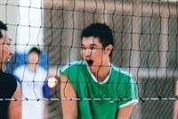 楊禮澤打排球 紓壓放鬆調身心