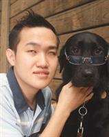 第三隻導盲犬  Louie淡江報到!