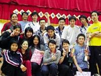 本校羽球校隊於北區大專羽球賽戰績耀眼,獲得男子組冠軍,女子殿軍。(圖/羽球隊提供)