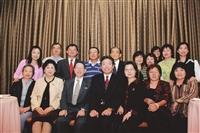 海外校友回國參加56週年校慶合影。