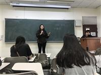 法文系於11月25日舉辦「履歷及口試如何準備」講座