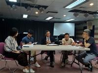 戰略所與淡江教會合作製播YouTube「台灣腦力機」