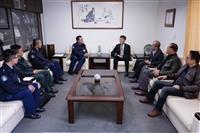 空軍作戰指揮部參謀長拜訪秘書長