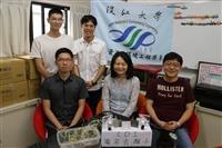 水環系三生獲教育部109年度第五屆「氣候變遷創意實作競賽」銀獎