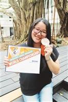 資管三王莉婷轉戰Excel抱回世界銅牌