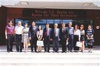 越南阮必成大學來訪 將締結姊妹校