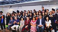 外交與國際系小畢典 紹爾群島駐臺大使來校祝福