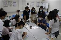 達文西樂創基地金屬手環編織課程