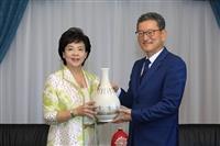 熊貓講者 Dr. Yong Jin Kim 拜訪校長&董事長