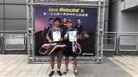網球隊李承融丶韋摯獲得108年Babolat  盃一般男子組雙打冠軍