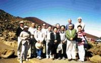 畢業卅七年的化學系校友同遊夏威夷〈圖魏和祥提供〉