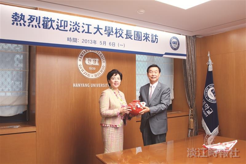 TKU Visits Korean Sister Universities