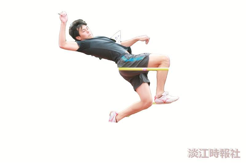跳高(攝影/梁琮閔)