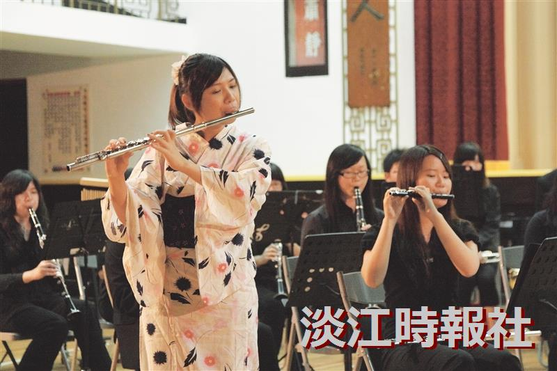 The TKU Wind and String Instrument Concert