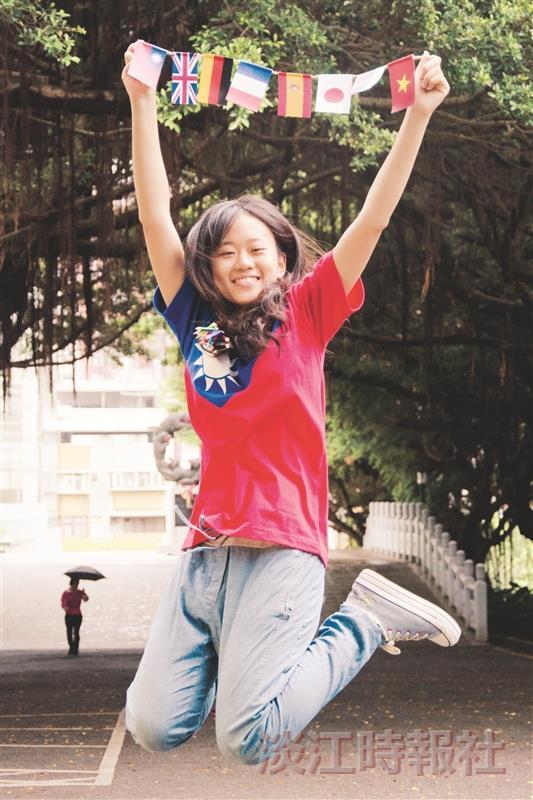 【品德之星】黃婕積極參與國際志工 向社會角落伸出援手