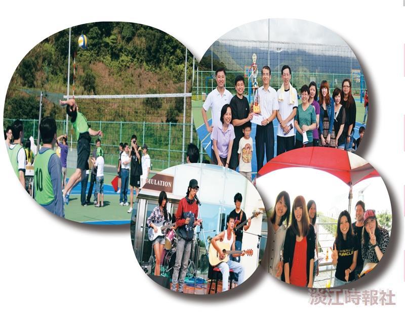 蘭陽校園舉辦校慶運動會與園遊會,難得好天氣讓蘭陽師生「動」的盡興、「遊」的開心!(圖/蘭陽校園提供)