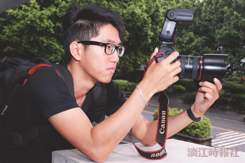 產經三何瑋健 攝影獎金獵人 以鏡頭懾動人心
