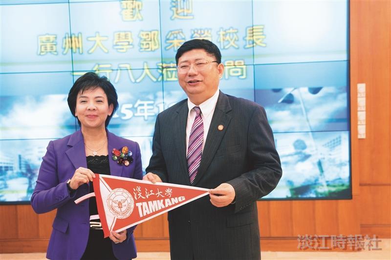 接待參訪 廣州大學合作密切