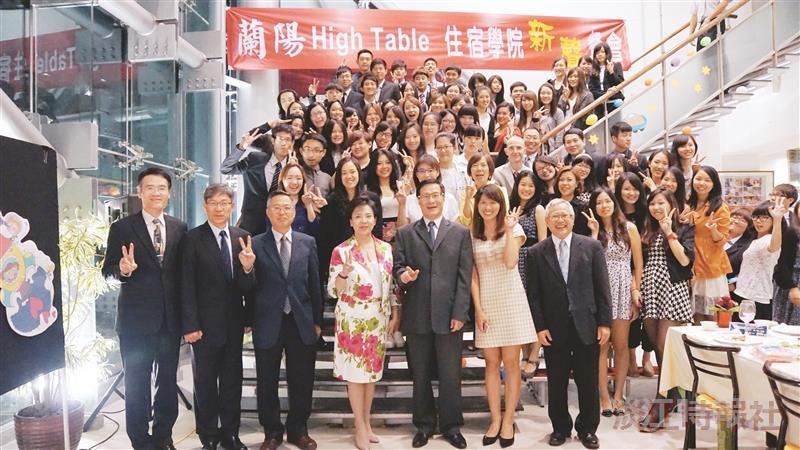 High Table住宿院生與師長400人晚宴