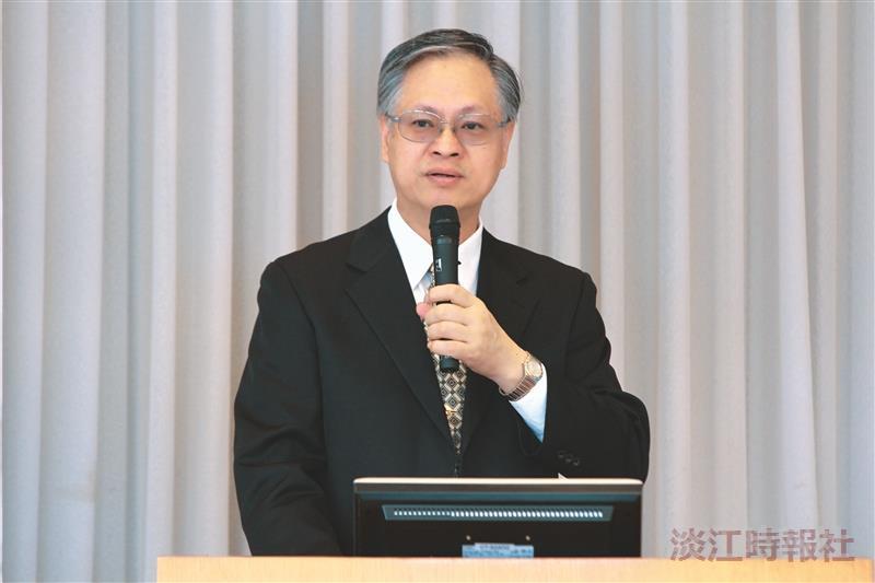 專題報告:邁向百大的策略思維 教育學院院長張鈿富