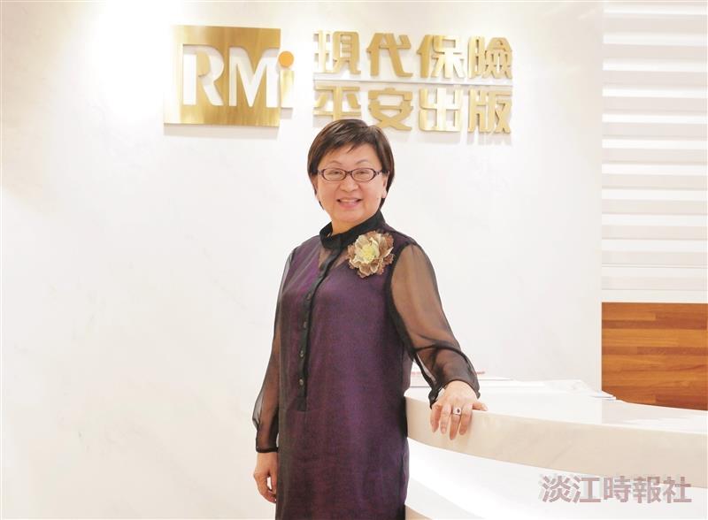 《現代保險》創辦人黃秀玲 以教育精神推廣保險制度