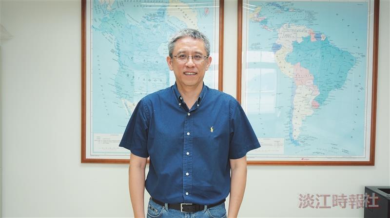 104學年度新任二級主管--美洲研究所 臺灣與亞太研究全英語碩士學位學程所長/主任宮國威