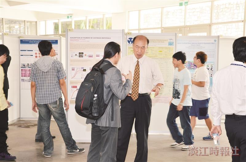 百篇論文爭鳴 化學系國際學術研討